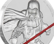 Darth Vader Ultra High Relief Coin at NZ Mint
