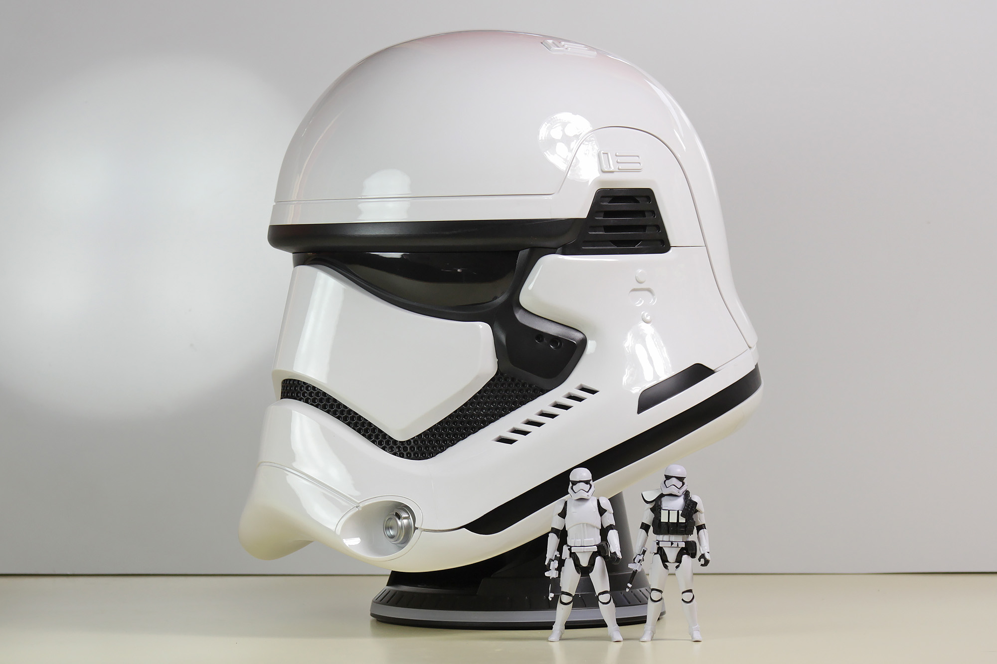 The stormtrooper helmet bluetooth speaker will be available from JB Hi-Fi EB Games Toyco and Mighty Ape ($699.99 RRP). Stormtrooper fans in particular ... & Review - 1:1 Stormtrooper Helmet Bluetooth Speaker - SWNZ Star Wars ...