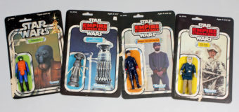 Vintage New Zealand Action Figure Cardbacks