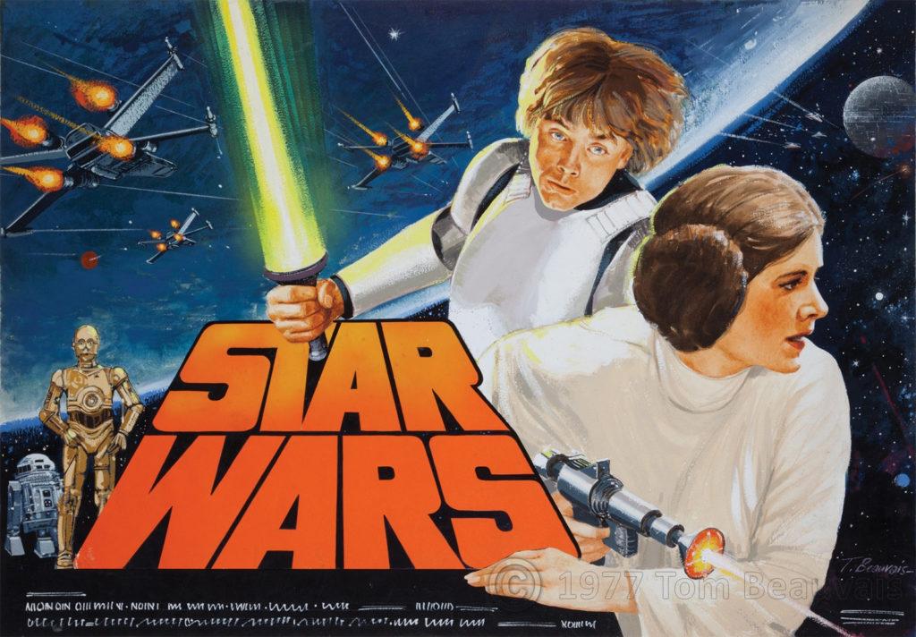 Tom Beauvais Star Wars Poster
