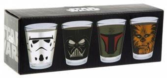 Star Wars Shot Glasses at NZ Game Shop