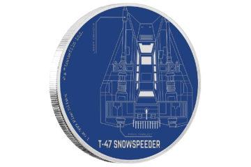 Snowspeeder Coin from NZ Mint
