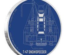 Snowspeeder Coin at NZ Mint