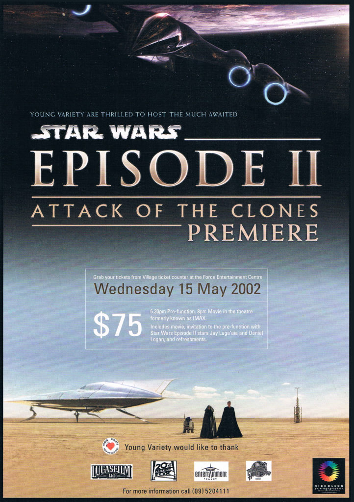 Attack of the Clone NZ Movie Premierea