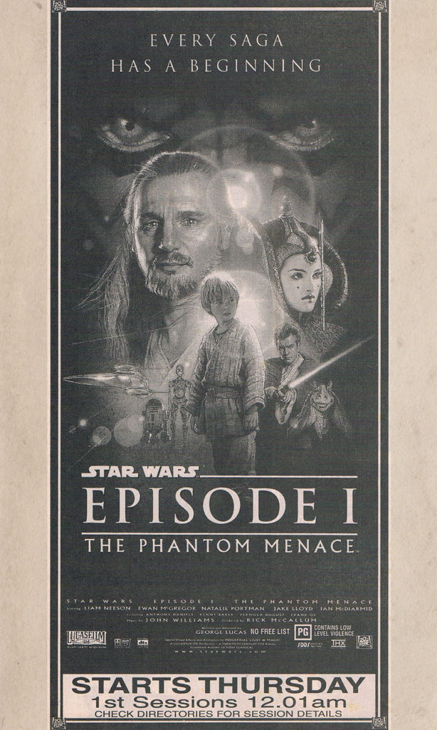 The Phantom Menace NZ Movie Premiere