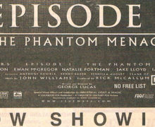 The Phantom Menace NZ Movie Premiere