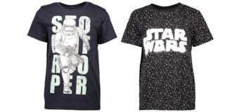 Latest Kid's Star Wars Tees at The Warehouse