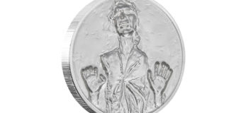 Carbonite Ultra High Relief Coin at NZ Mint
