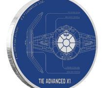 TIE Advanced X1 Coin at NZ Mint