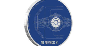 TIE Advanced X1 Coin at NZ Mint