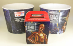 KFC Kid's Meal Box & Chicken Buckets