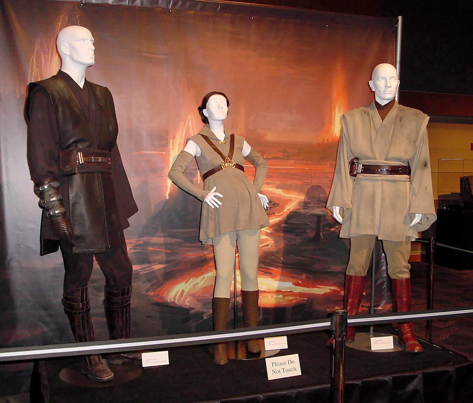 EP3 Anakin, Padme, and Obi-Wan
