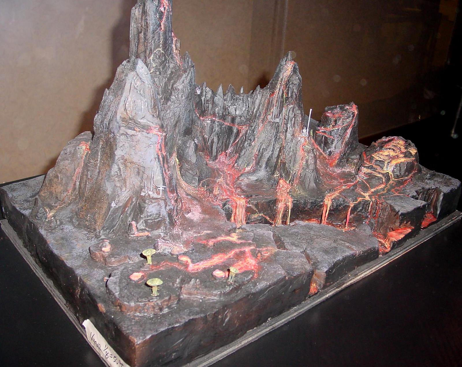 Mustafar Volcano Model