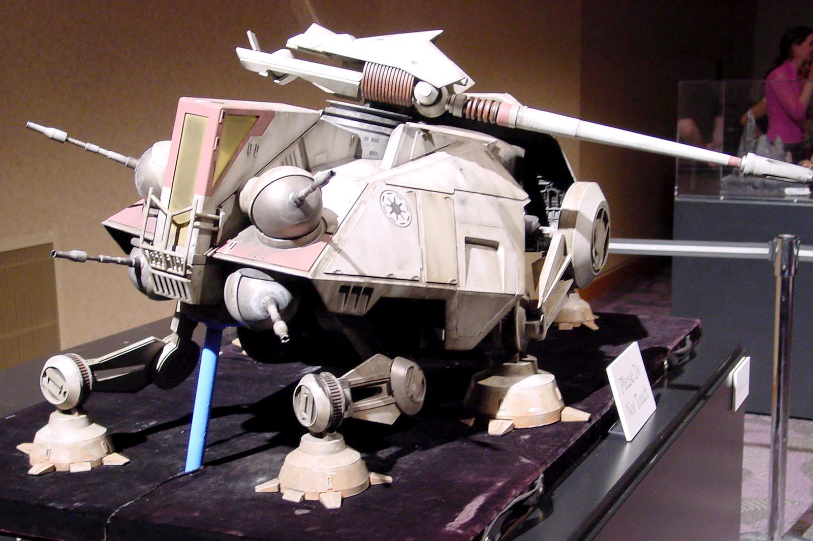 Studio-scale AT-TE Model
