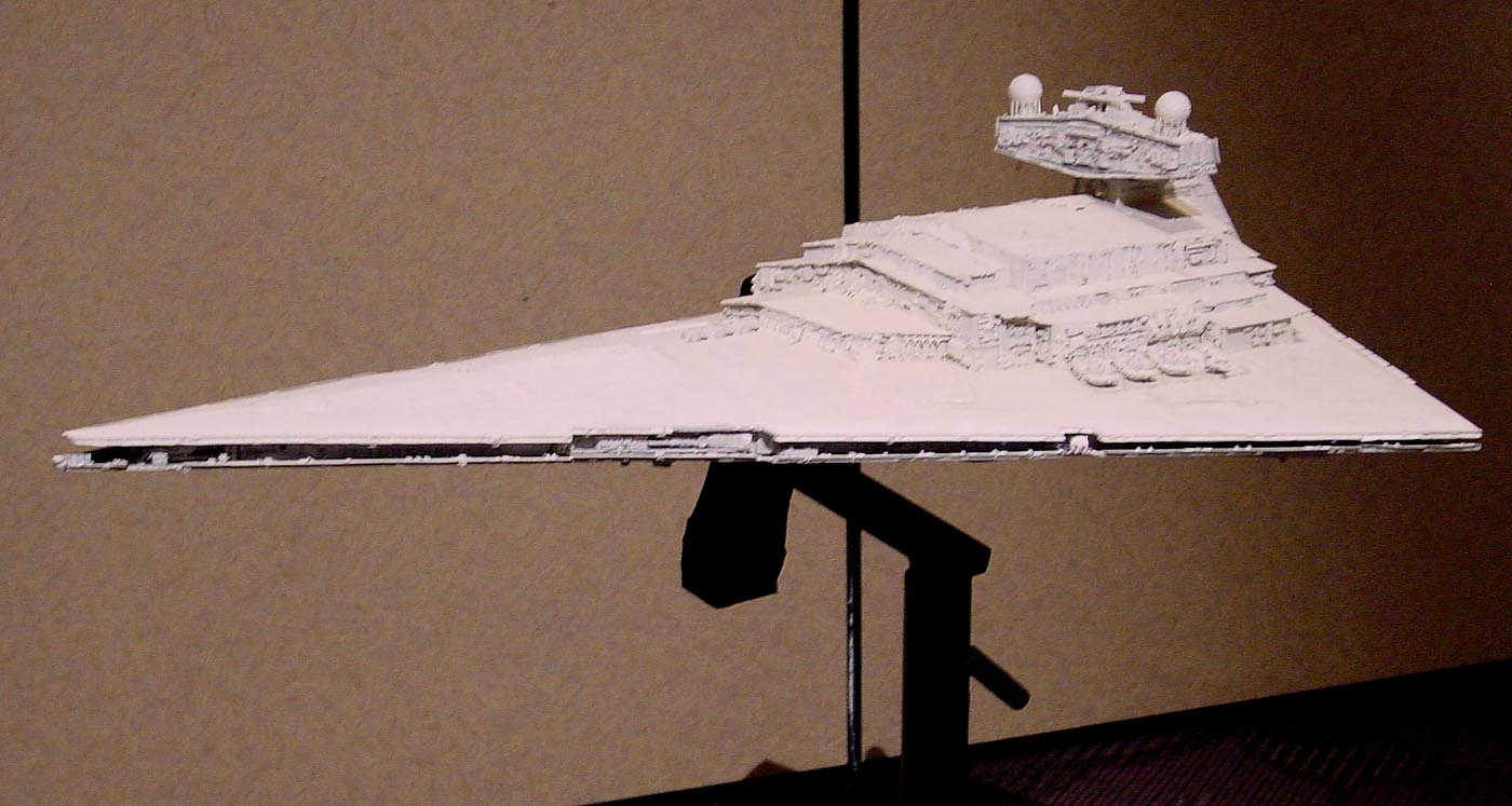 Imperial Star Destroyer Model