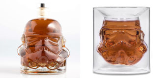 Stormtrooper Decanter and Tumblers