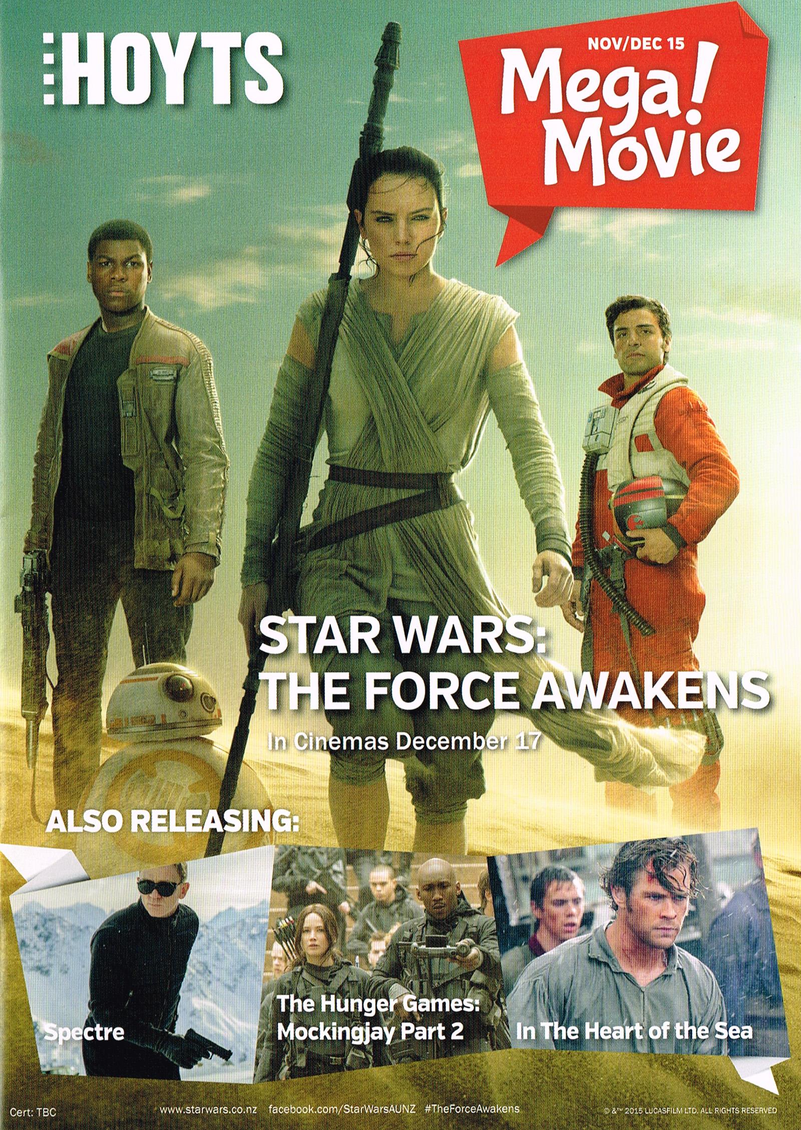 The Force Awakens, 17 December 2015