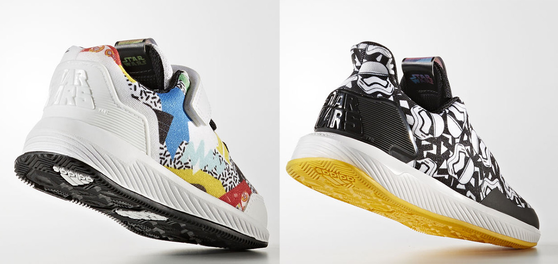Adidas Kid's and Infant's Star Wars Shoes - SWNZ, Star Wars New ...