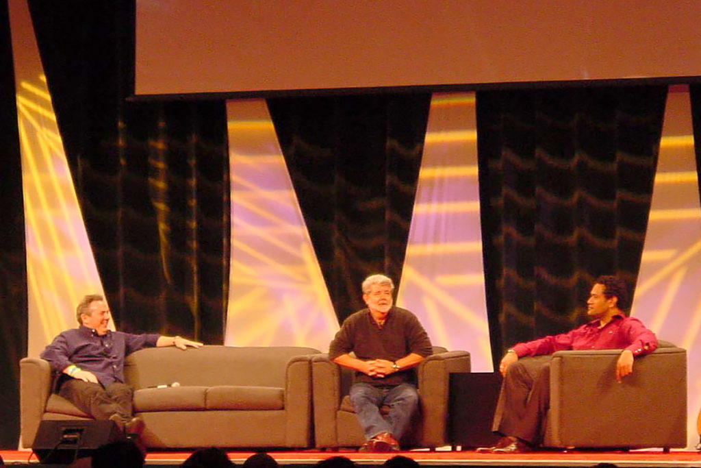 George Lucas at Celebration III
