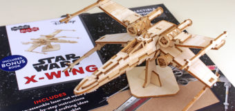 Review – IncrediBuilds X-Wing Model and Book