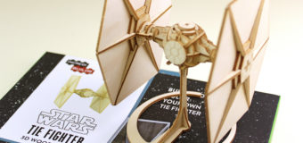 Review – IncrediBuilds TIE Fighter Model and Book