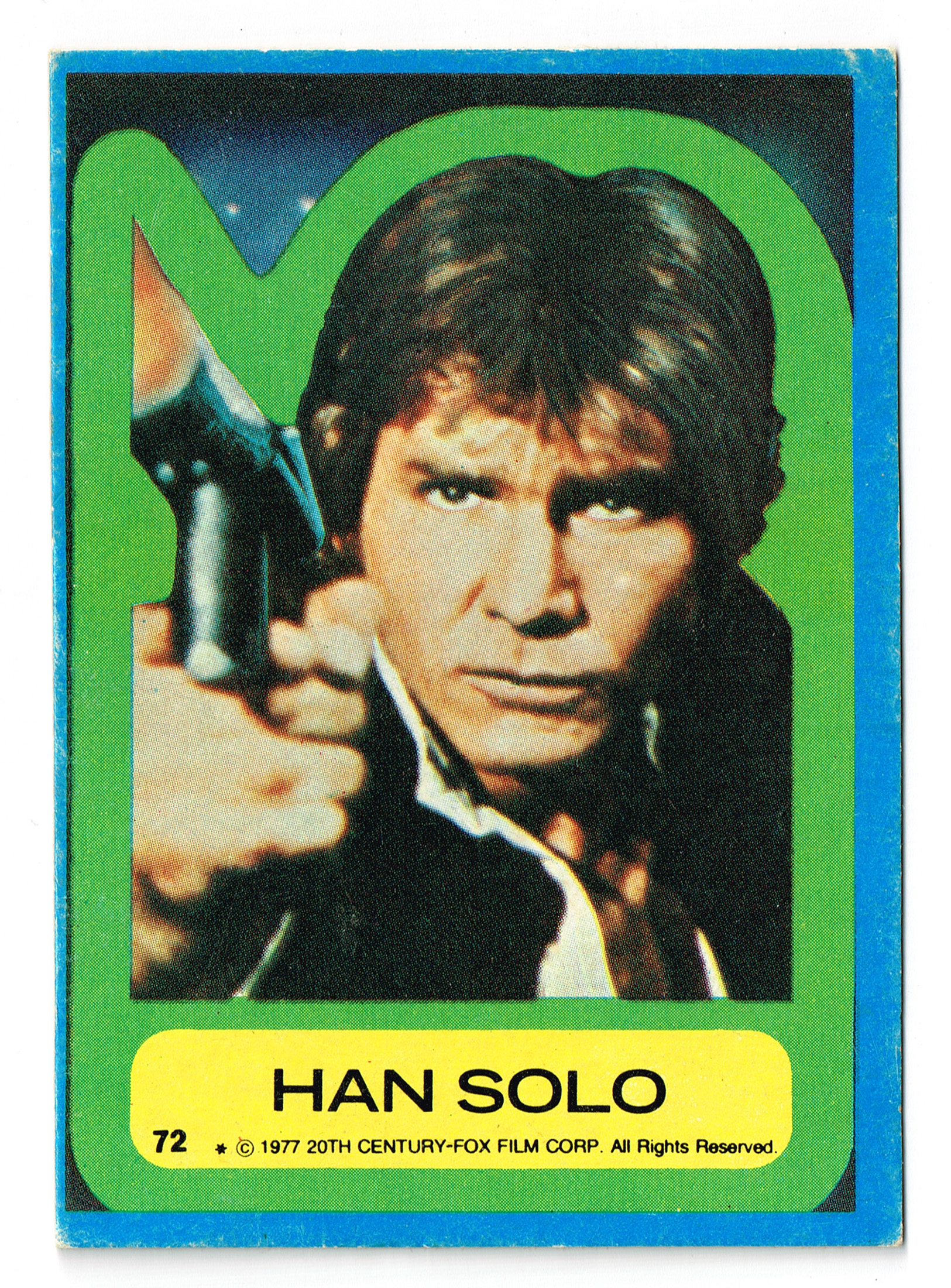 Allen's and Regina Han Solo Card