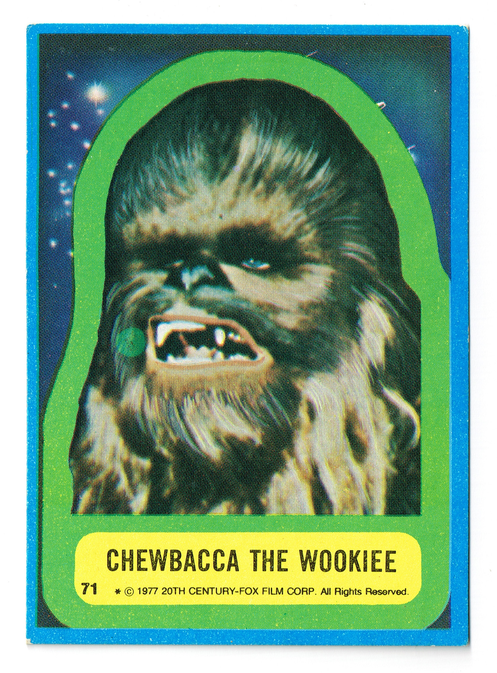 Allen's and Regina Chewie Card