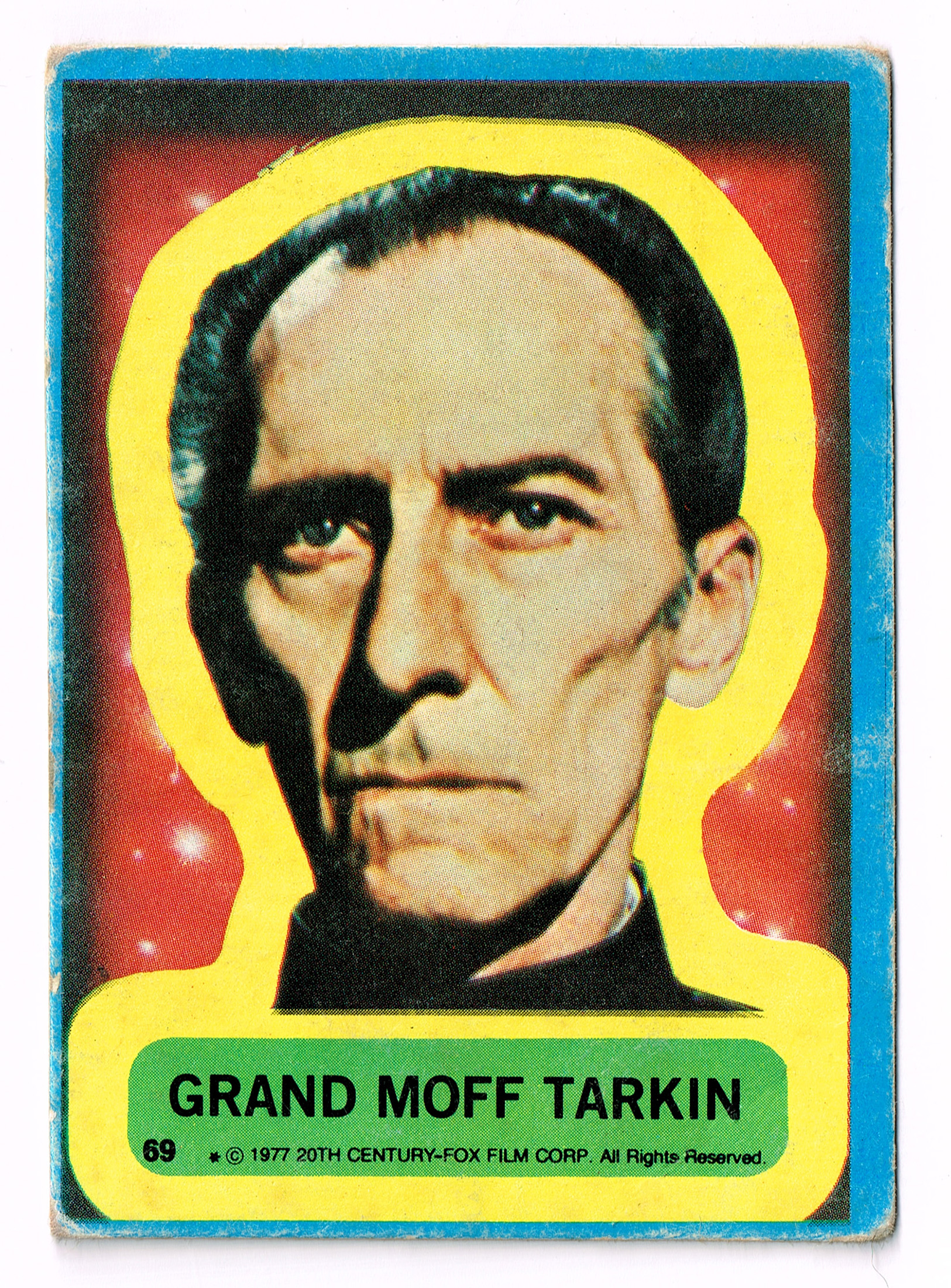 Allen's and Regina Tarkin Card