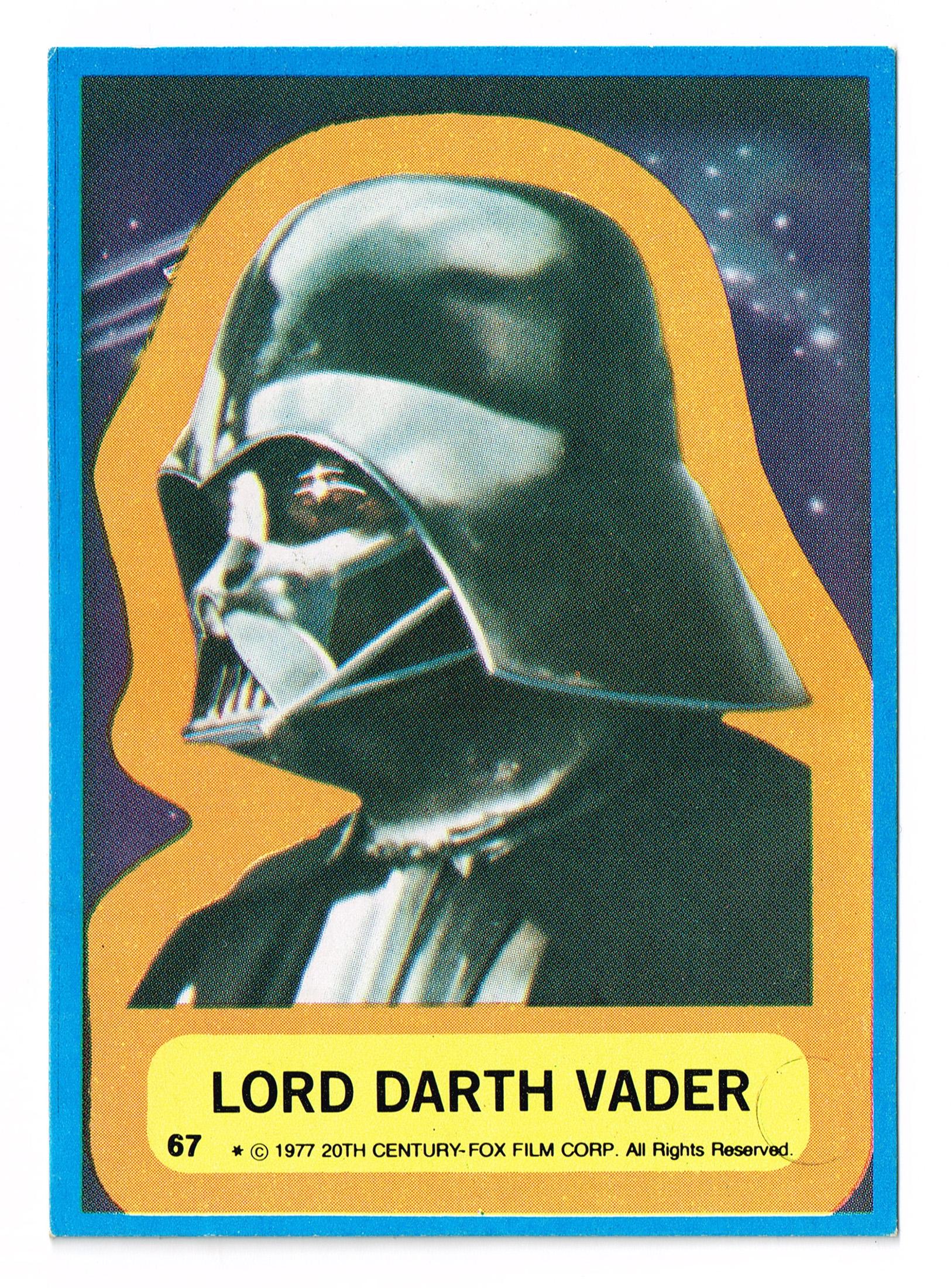 Allen's and Regina Vader Card