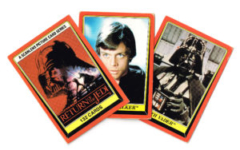 Allen's and Regina NZ Return of the Jedi Trading Cards