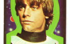 Topps USA Star Wars sticker no.1