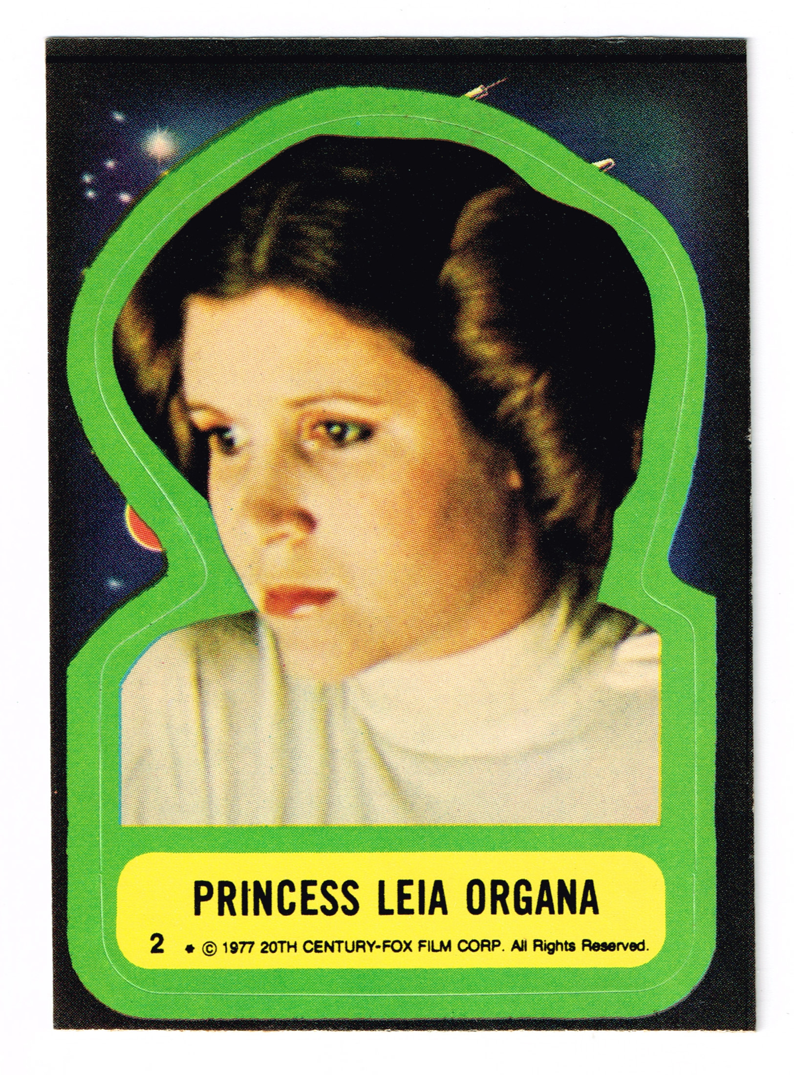 Topps USA Star Wars sticker no.2