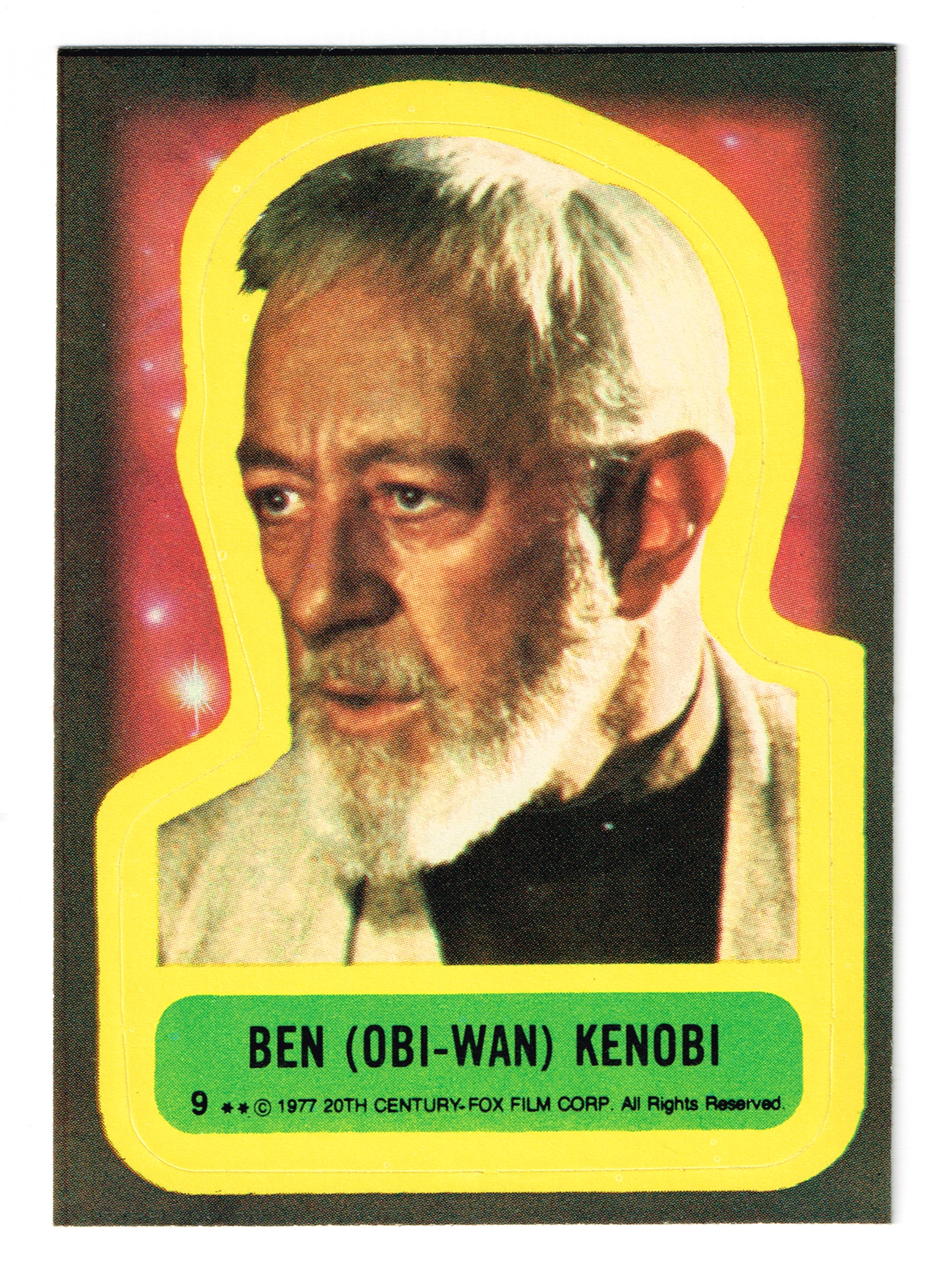 Topps USA Star Wars sticker no.9