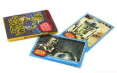 Allen's and Regina Star Wars bubblegum pack and cards
