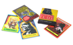 Allen's and Regina Star Wars bubblegum packs and cards