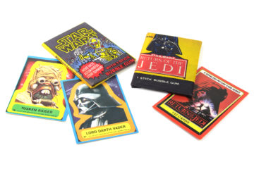Allen's and Regina Star Wars cards