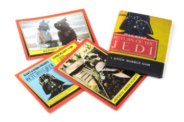 Allen's and Regina ROTJ cards