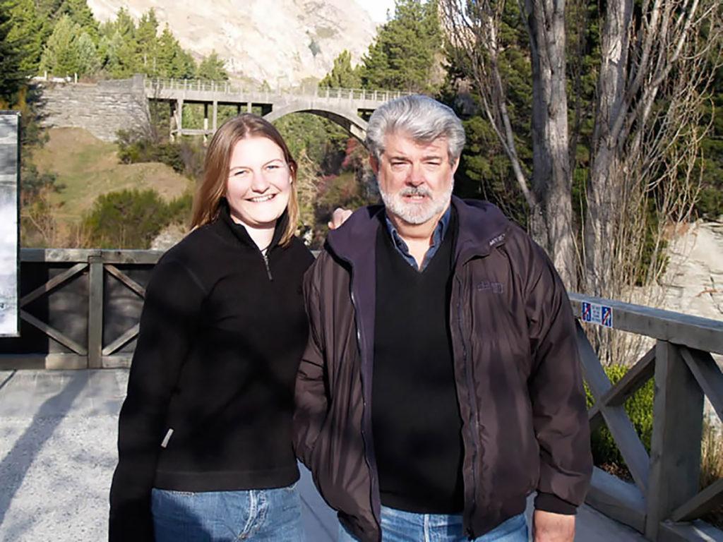George Lucas in New Zealand