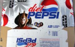 Diet Pepsi Star Wars 12-pack box (NZ, 1999)