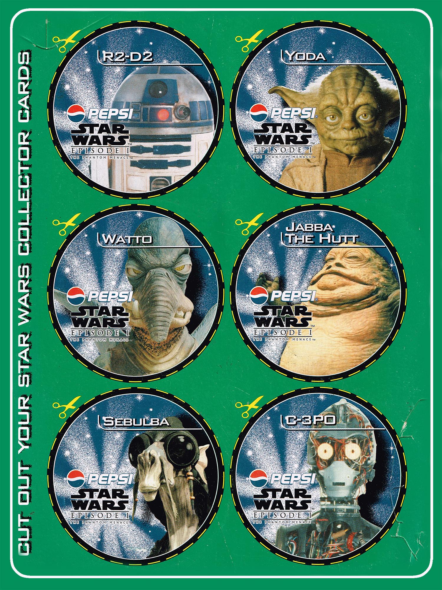 Mountain Dew Star Wars 12-pack box (NZ, 1999)
