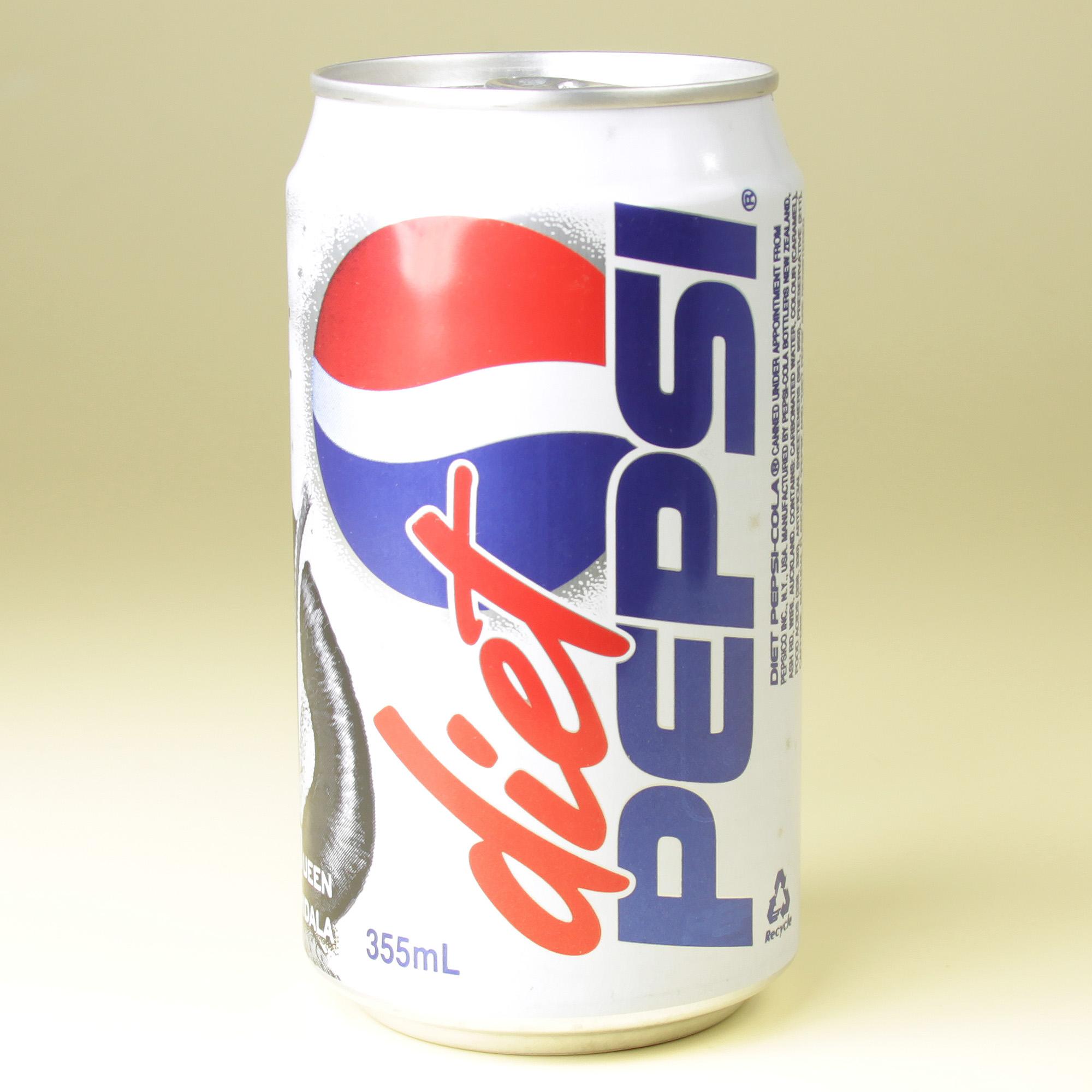 Queen Amidala Diet Pepsi can (NZ, 1999)