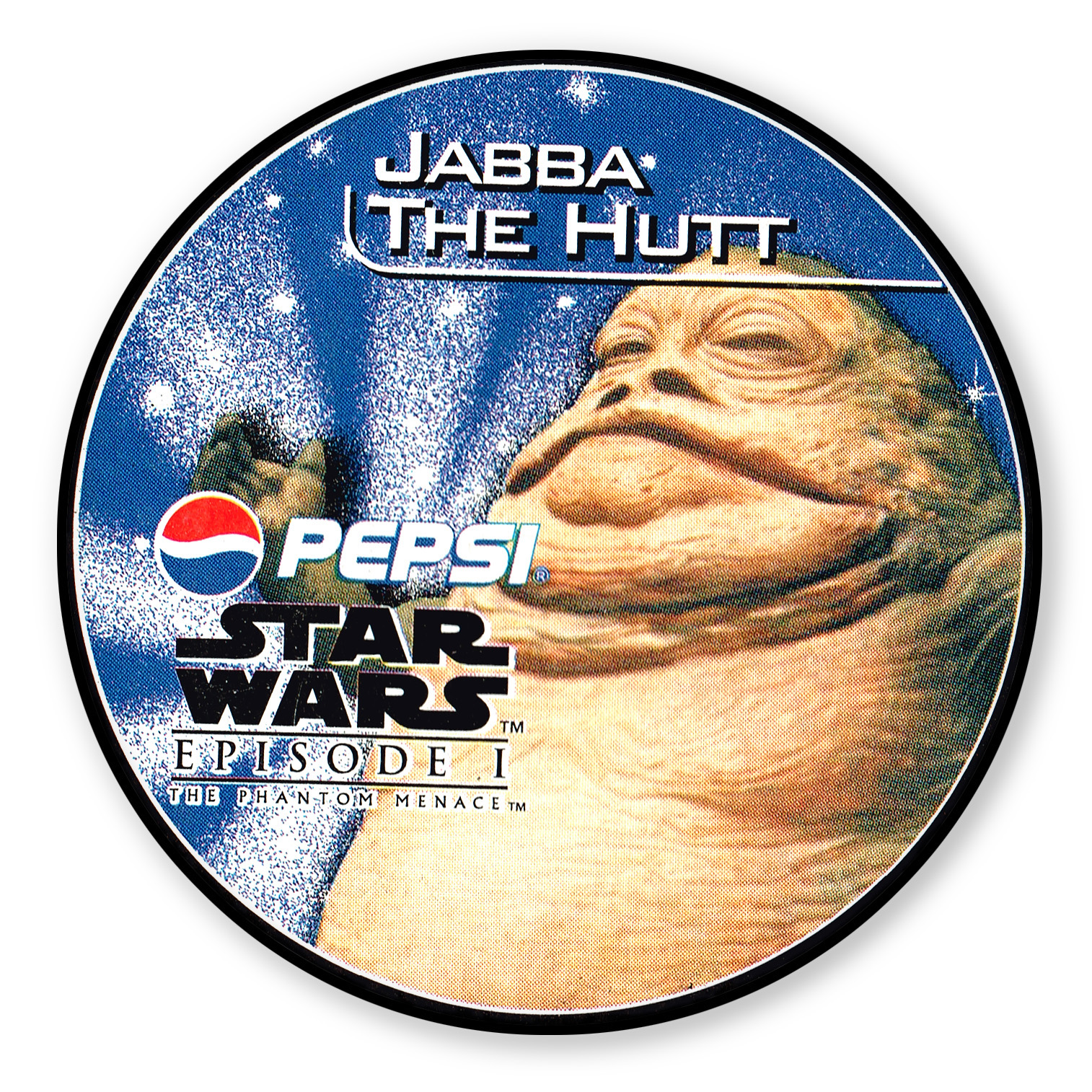 Jabba the Hut Pepsi card (NZ, 1999)