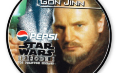 Qui Gon Jinn Pepsi card (NZ, 1999)