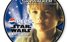 Anakin Skywalker Pepsi card (NZ, 1999)