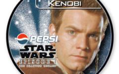 Obi-Wan Kenobi Pepsi card (NZ, 1999)