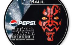 Darth Maul Pepsi card (NZ, 1999)