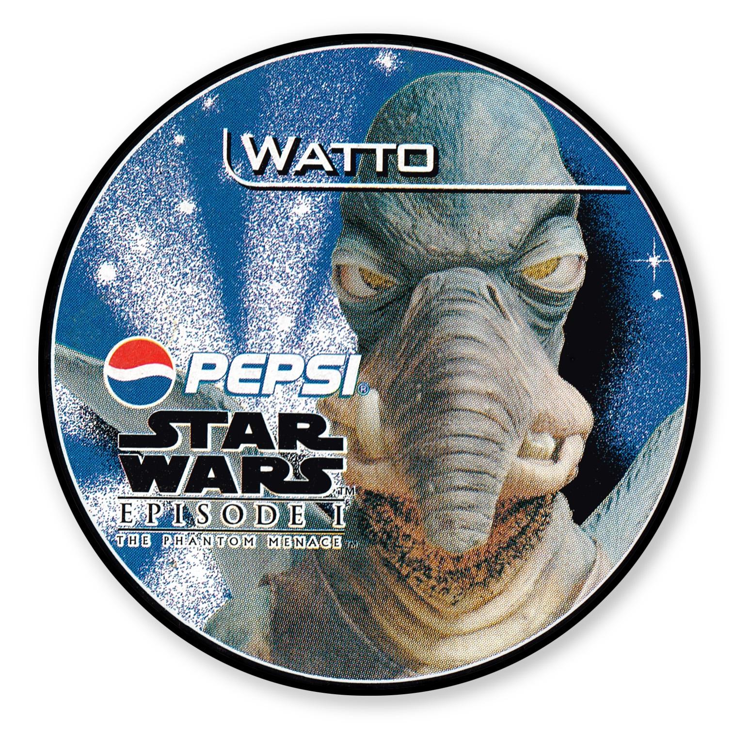 Watto Pepsi card (NZ, 1999)