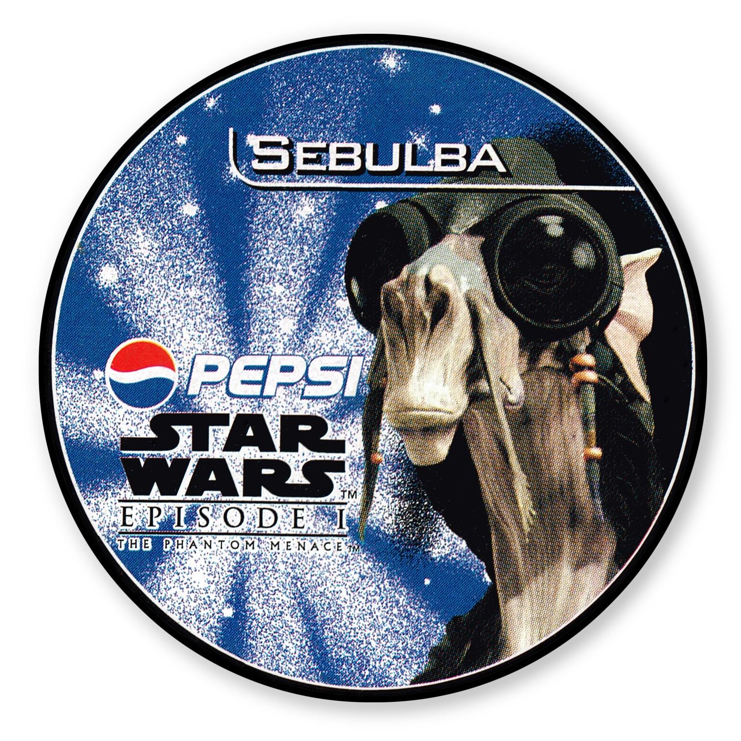 Sebulba Pepsi card (NZ, 1999)