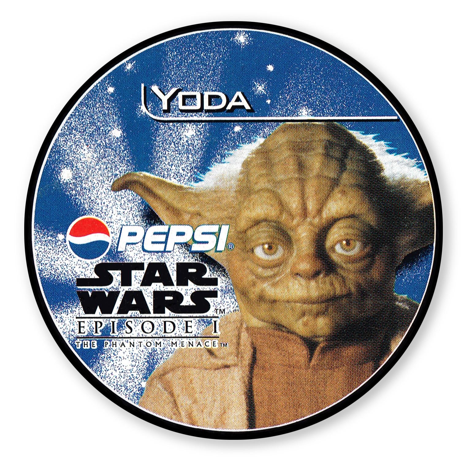 Yoda Pepsi card (NZ, 1999)