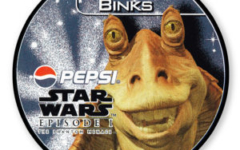 Jar Jar Binks Pepsi card (NZ, 1999)